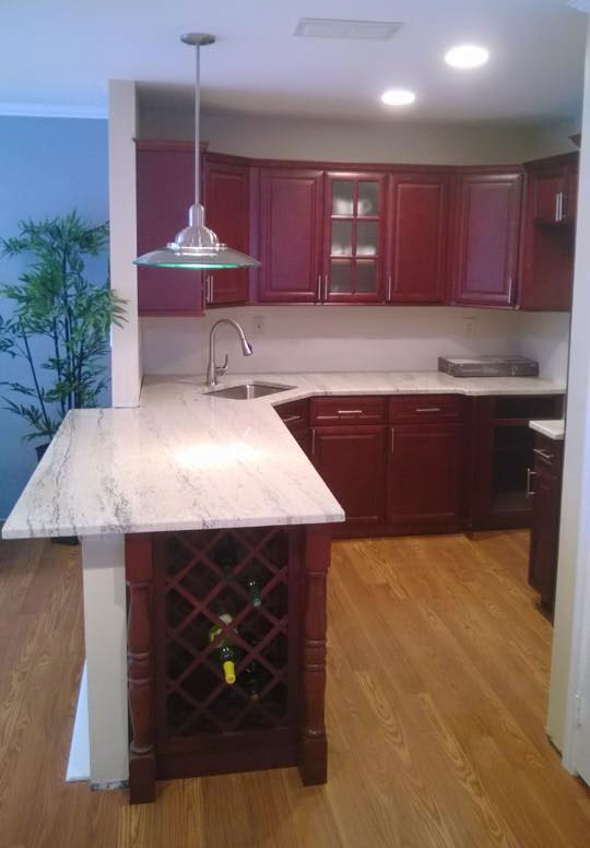 Kitchen remodel Oct 2015